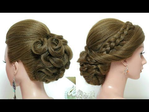 Bridal Hairstyle For Long Hair Tutorial Trendy Wedding Updo Youtube Bridal Hair Hairstyle Long Trendy Long Hair Tutorial Hair Tutorial Hair Styles