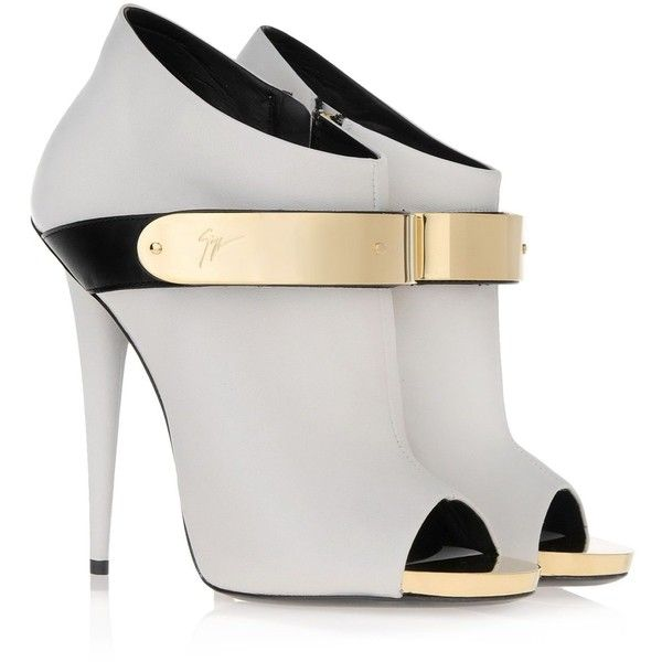 i37116 001 - Bootie Women - Shoes Women on Giuseppe Zanotti Design Online Store France found on Polyvore