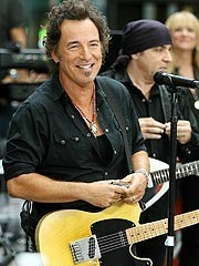 Bruce Springsteen - a good New Jersey boy