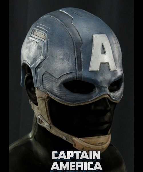 Captain America Stealth Helmet Silicone Mask