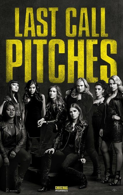 pitch perfect 3  is a movie that i would die to see. this movie shows how talented we can be. Also finding a voice can show how teamwork leads to success. If pitch perfect 1 & 2 are great movies pitch perfect 3 would be even better.