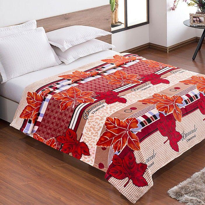 Cobertor / Manta Microfibra Flanel Platano - baherimports