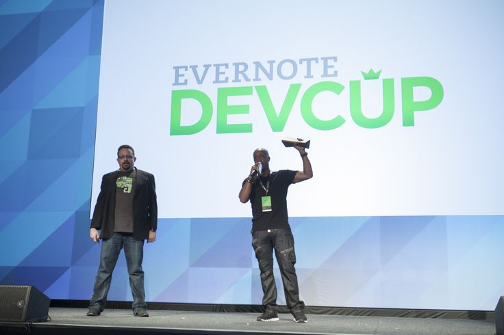 EC3 - #EC2013: MC Hammer joined our CEO, Phil Libin, to announce the Devcup gold award winner #toolegit