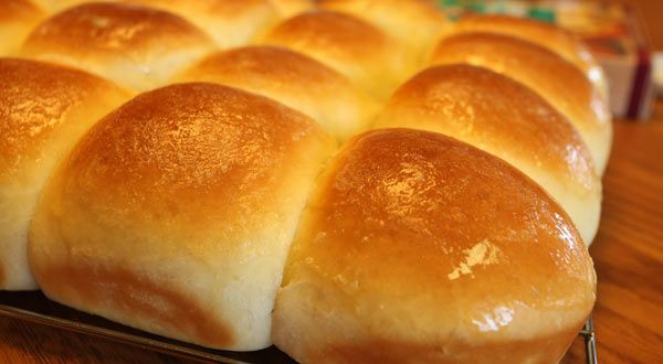 Whip up three dozen rolls that'll bake in under 20 minutes. They're a great addition to your dinner menu.