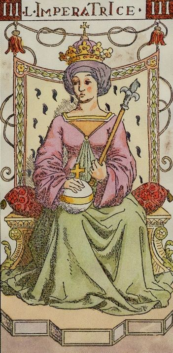 III. The Empress: Tarot of the Master Find out what the Empress means for you: www.tarotbyemail.com