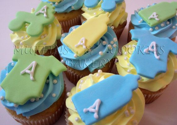 Baby Shower Cupcakes / Muffins