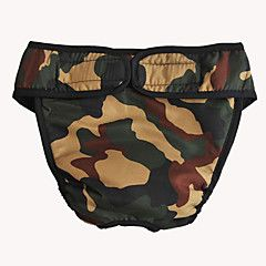 Hunde Hosen Rot / Weiss / Blau / Rosa / Camouflage Frühling/Herbst Klassisch camuflaje-Pething®