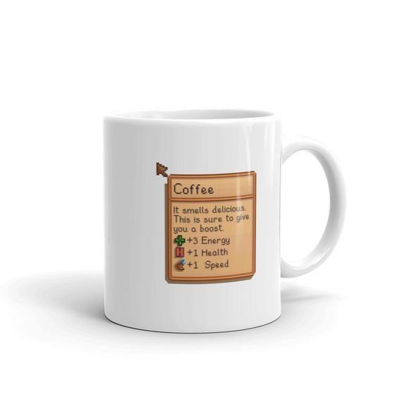 Coffee Item Info 11 Or 15 Oz Mug Stardew Valley Mugs