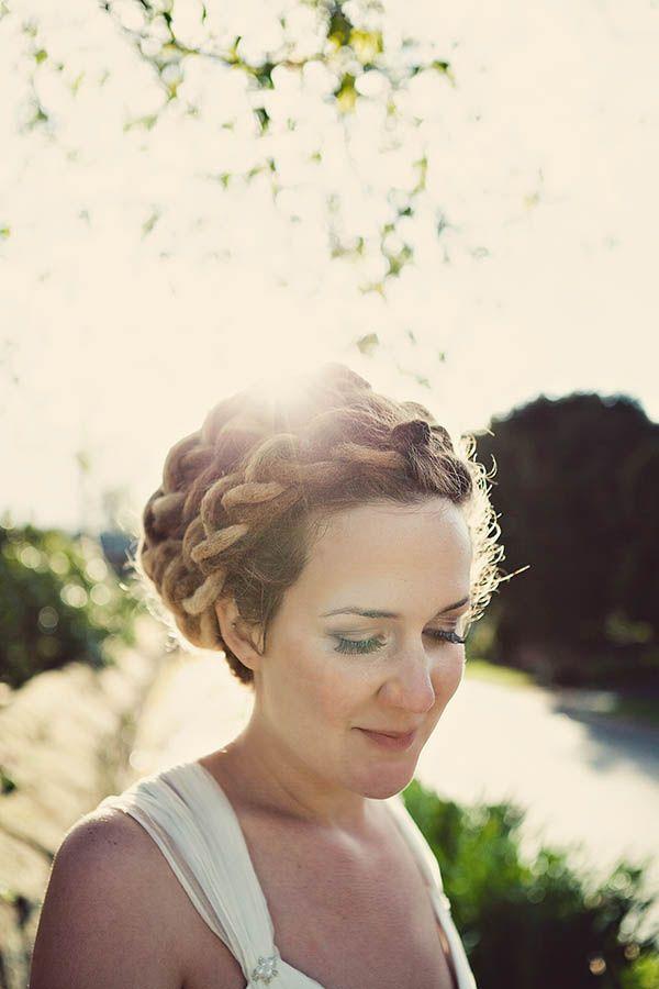 A Village Hall, DIY & A Beautiful Bride with Dreadlocks: Gavin & Hollie