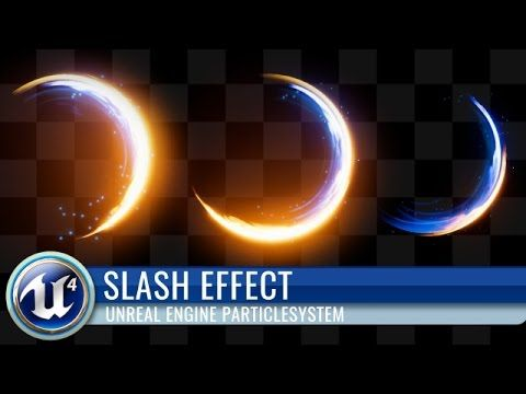 UE4】Unreal Engine 4 Cascade Particle System Game Effect 【Slash