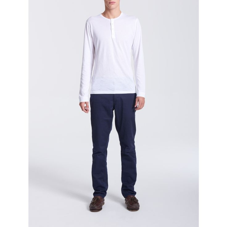 Henley Tunisian White - Men