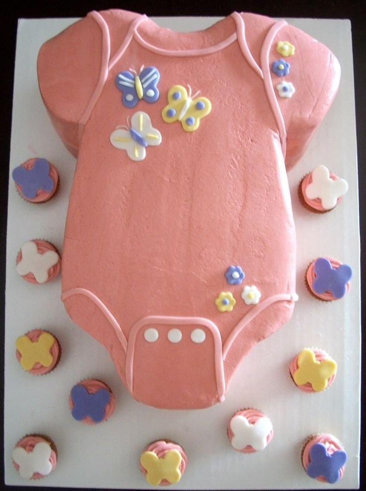Baby Girl Onesie  on Cake Central
