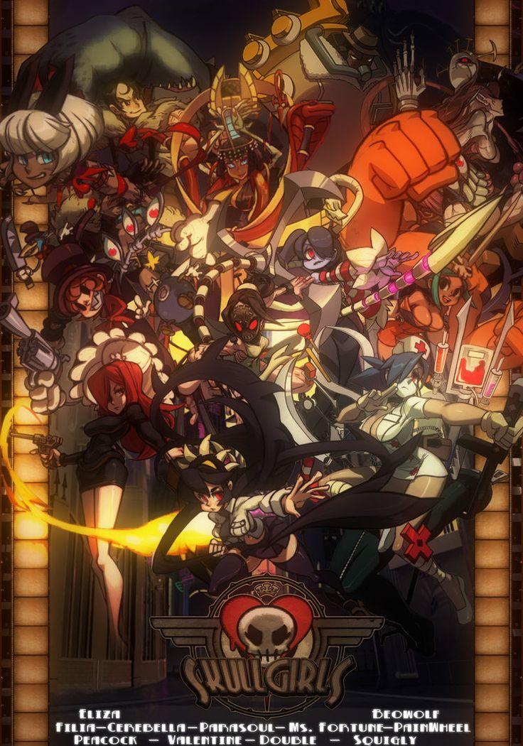 Skullgirls Poster by FARetis