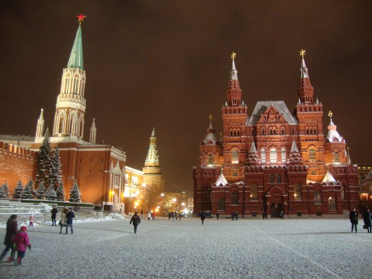 Red Square with Historical Museum