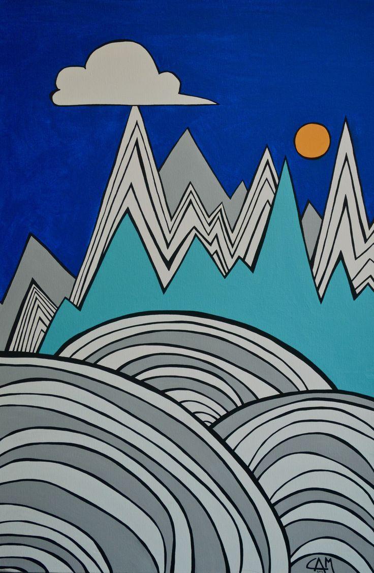 Pinnacles, $350.00 #painting