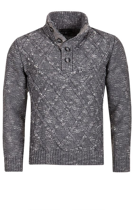 PULL LOSANGE Homme - Pulls Armand Thiery: