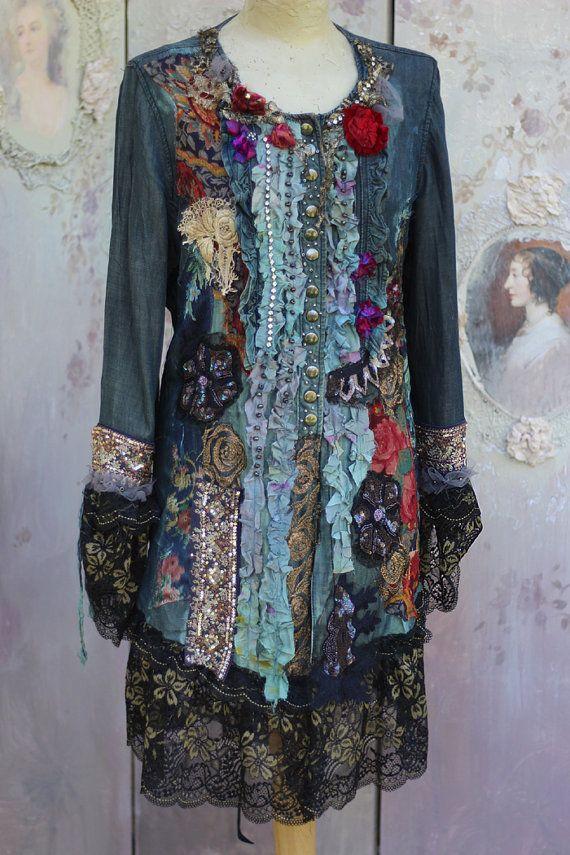 Emperatriz de la chaqueta Recargado barroco por FleursBoheme