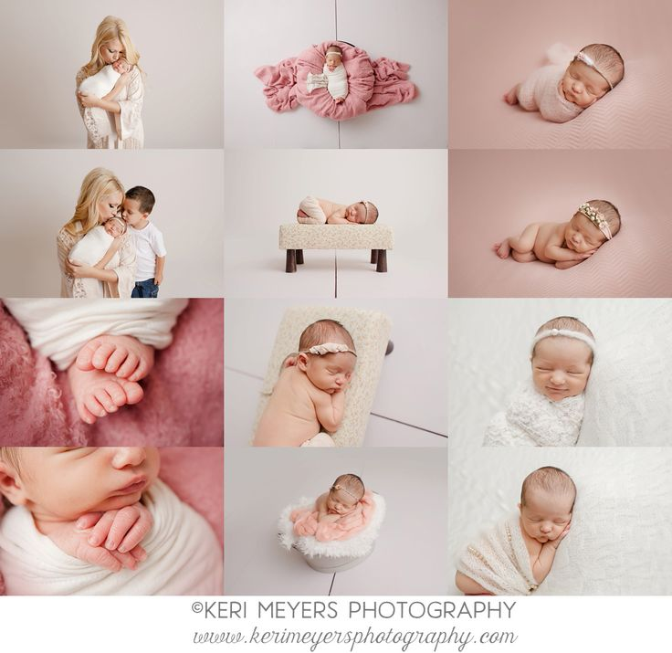 Ideas For Newborn Girl Photos