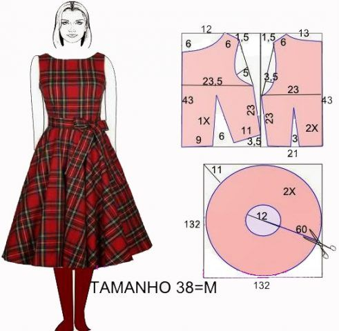 Літня сукня своїми руками – як зшити 13