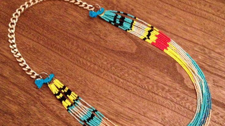 How To Make a Native American Necklace DIY Style