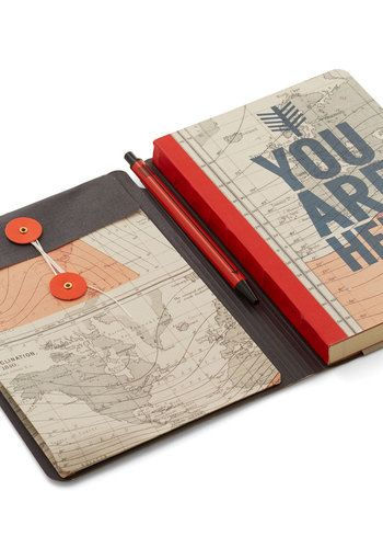 You Globe, Girl Journal | Mod Retro Vintage Desk Accessories | ModCloth.com