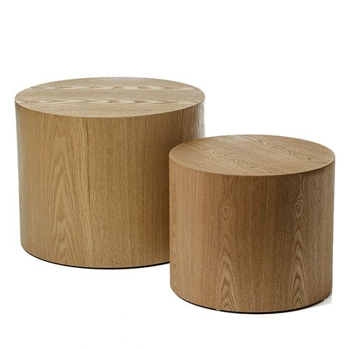 Nesting Orbit Tables Ash Set of 2