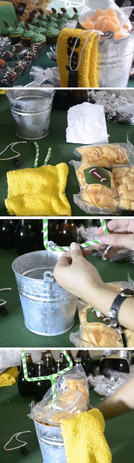 17 Easy DIY Super Bowl Party Decorations Ideas,  #Bowl #Decorations #DIY #Easy #ideas #Party …