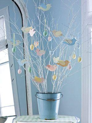 Pretty branches,eggs & birds