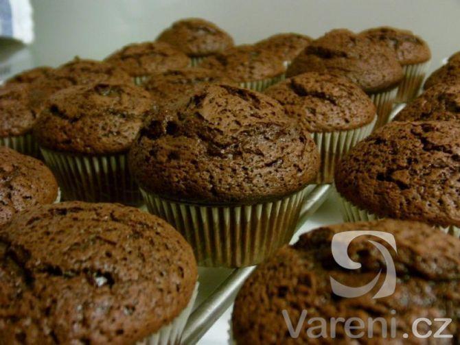 Lahodné čokoládové muffiny