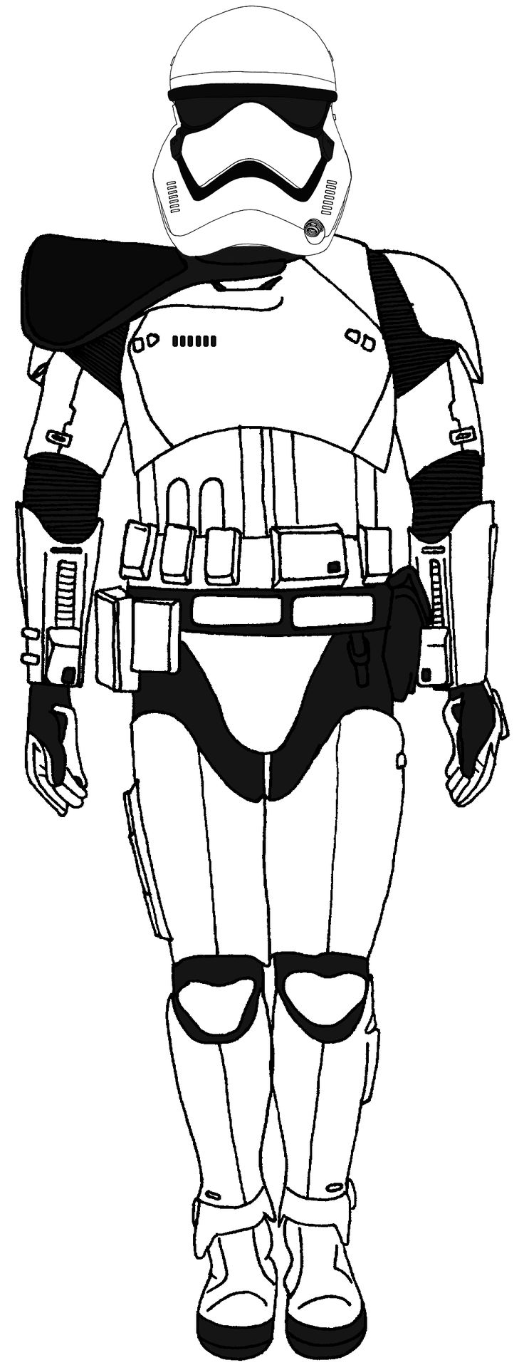 first order stormtrooper coloring pages - photo#18
