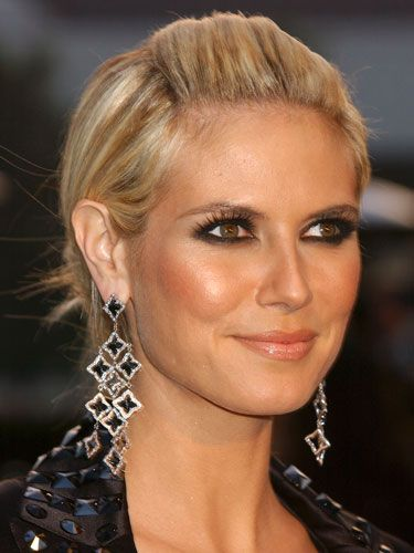 Heidi Klum Hair and Makeup - Heidi Klum Beauty Looks