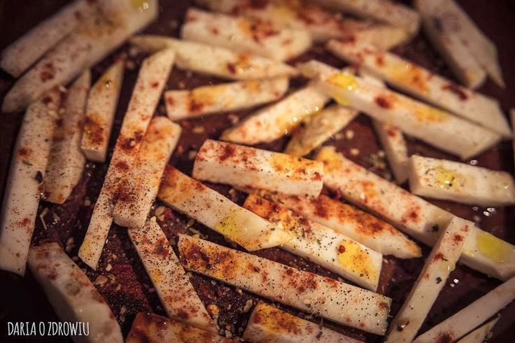 French fries made from celery root