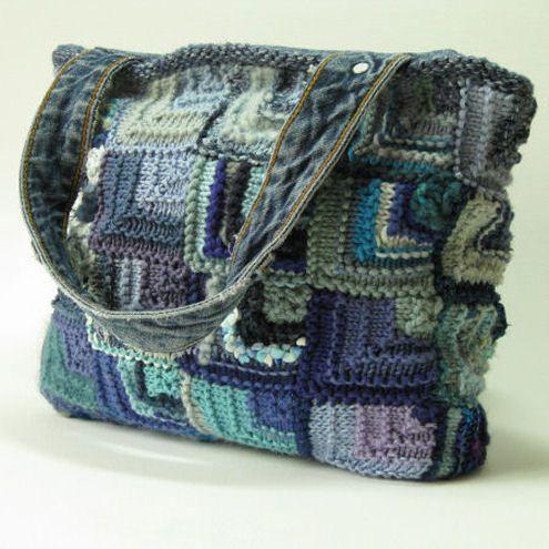 197 Best Knitting Bags Images On Pinterest Crocheted Bags Crochet
