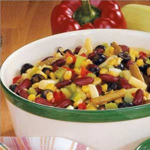 THIS IS THE ONE!!!  Bean N Corn Salad Recipe