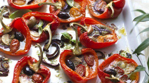 Pečené papriky na způsob italského venkova