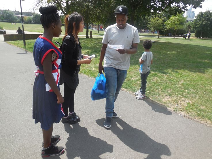 Promoting an event is one of the crucial skills the young people learnt during the Take Over project