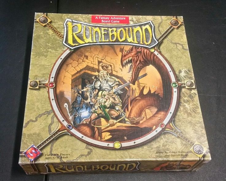 Runebound 1st Edition A Fantasy Adventure Board Game | eBay