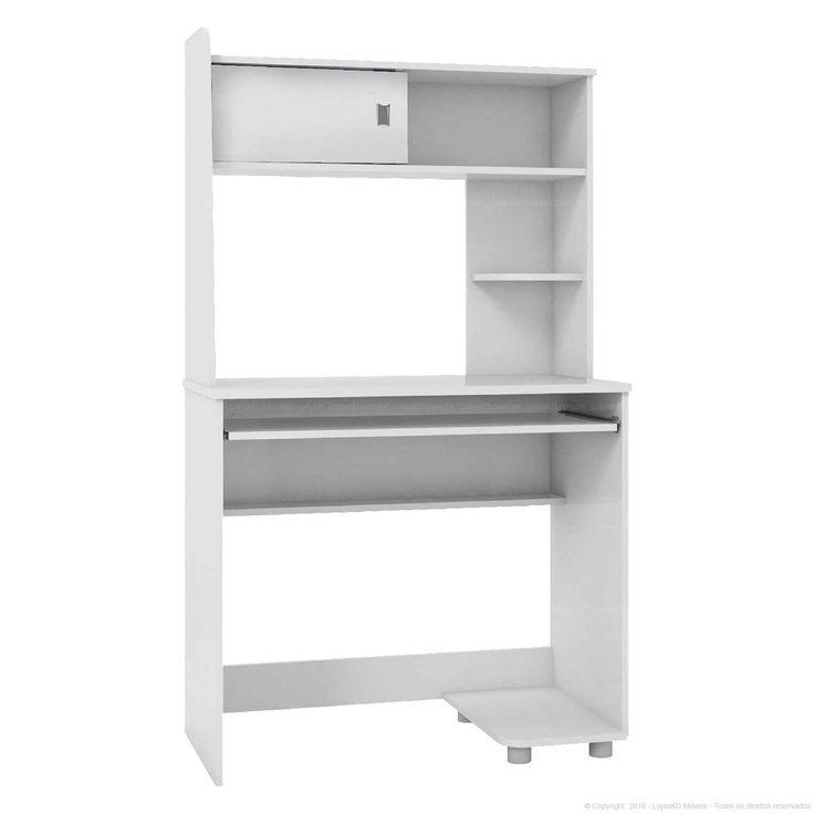 Compre Mesa para Computador/Escrivaninha 1 Porta de Correr 4036A Flex Color 100%…