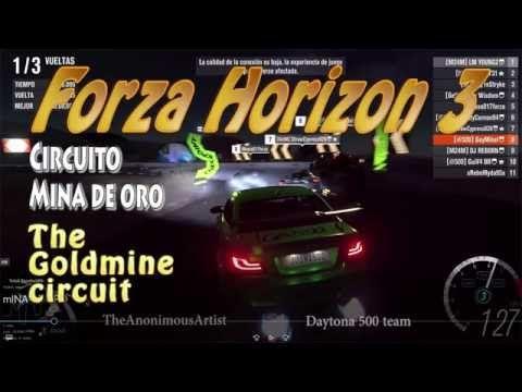 Forza Horizon 3 - Circuito de la Mina de oro - Goldmine circuit