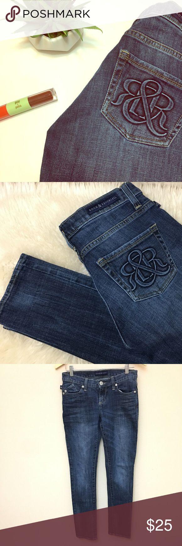 •• Rock & Republic •• Jeans BERLIN Style Rock & Republic, Berlin Style Skinny Jeans. EUC, lots of life left int these. SZ 4M Rock & Republic Jeans Skinny