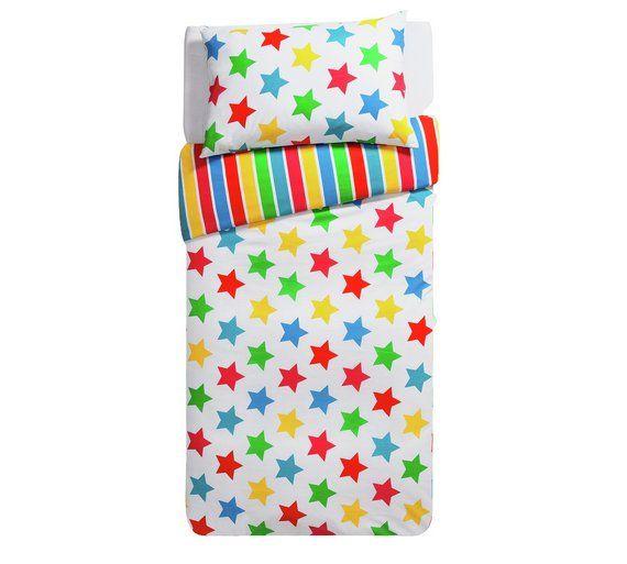 Buy HOME Stars and Stripes Bedding Set - Single at Argos.co.uk, visit Argos.co.uk to shop online for Children's bedding sets, Bedding, Home and garden