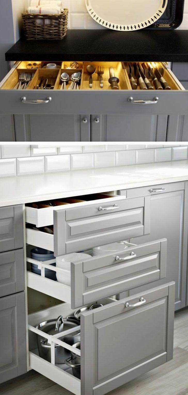 Mejores 107 imágenes de Kitchen Decor Idea en Pinterest | Vitrinas ...