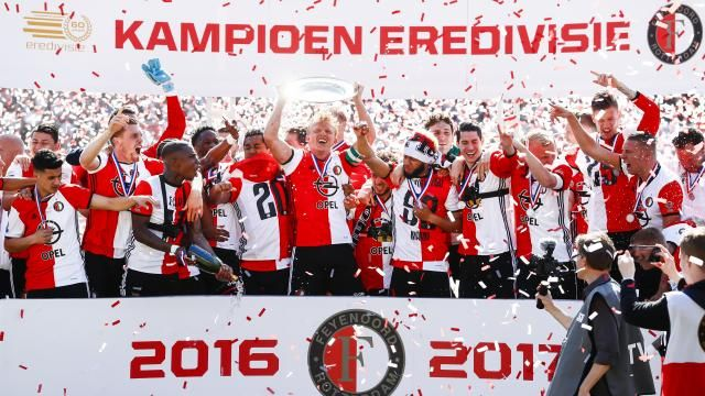 Feyenoord kampioen van Nederland na hattrick Kuijt tegen Heracles | NU - Het laatste nieuws het eerst op NU.nl