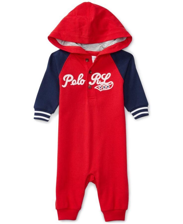 Ralph Lauren Baby Boys' Baseball Coverall