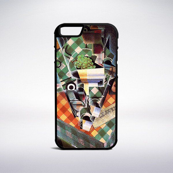 Juan Gris - Still Life With Checked Tablecloth Phone Case – Muse Phone Cases