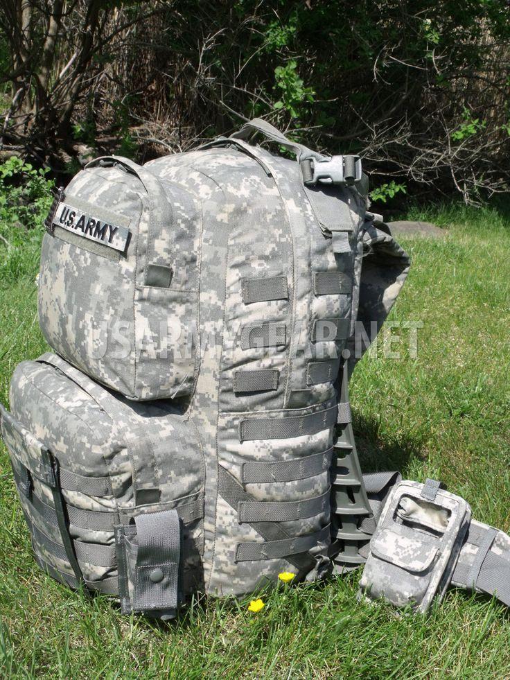FULLY LOADED US Army Military MOLLE II ACU Medium Rucksack   US Army Gear