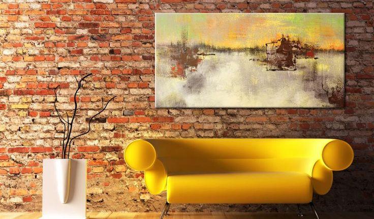 Cuadros abstractos modernos - Cuadro decorativo Frialdad de la blancura  #cuadros #abstractos #home #decor #pintura #abstracción