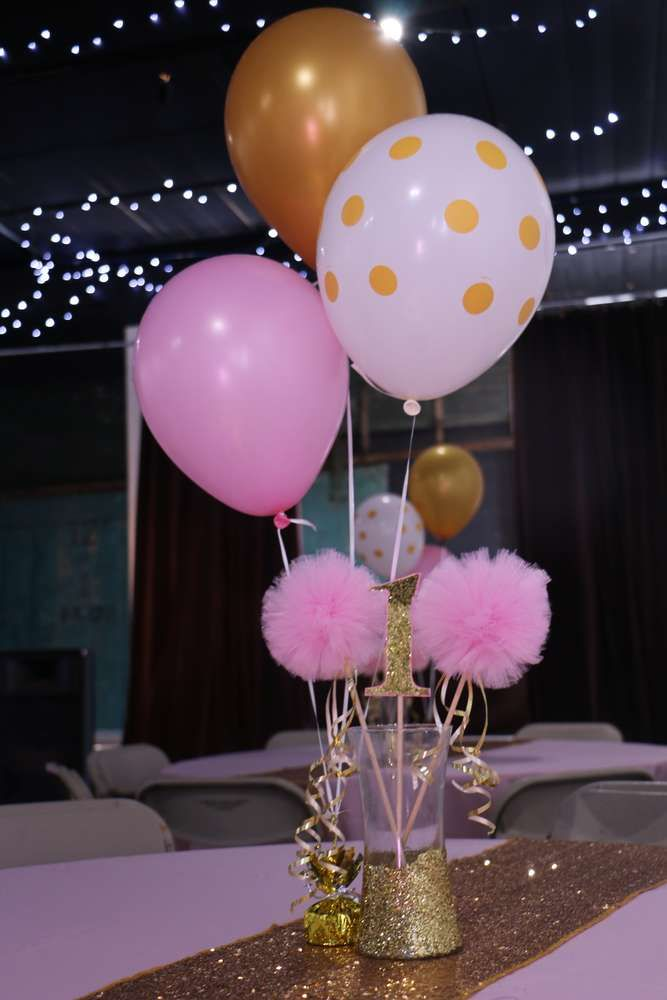 Princess Glitz Pink & Gold Birthday Party Ideas   Photo 1 of 13   Catch My Party