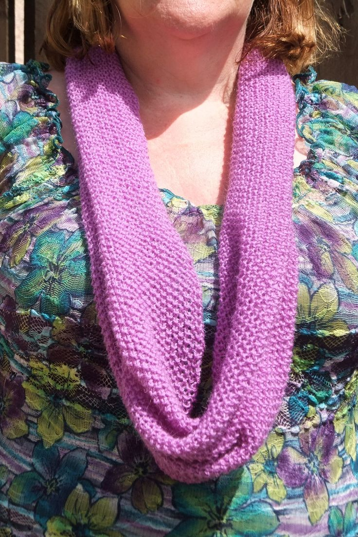 This lovely infinity scarf is knitted in 4ply 100% wool and can be machine washed. perfect for summer evenings/ cooler summer days and for wearing indoors to add a splash of colour in autumn/winter. £8 + £1 UK P&P International P&P £3