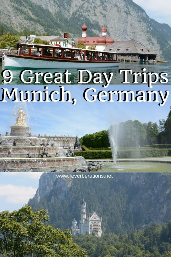 Munich is a great place to visit but it is also a good home base if you want to explore Bavaria and the area. Here are 9 great day trips from Munich, Germany! #munich #germany